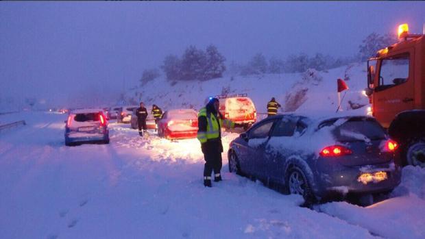 Resultado de imagen de caos nieve