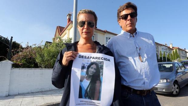 Los padres de Diana Quer tras la desaparición de su hija