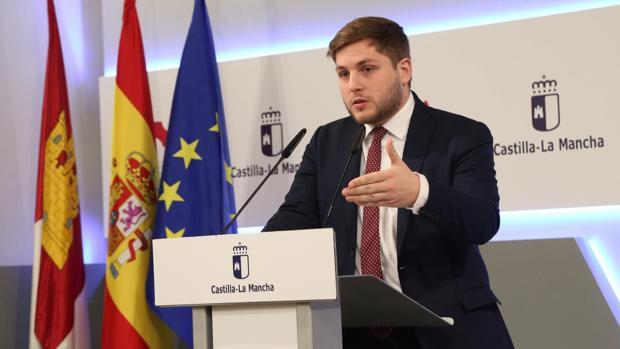 Ignacio Hernando es el portavoz del Gobierno de Castilla-La Mancha