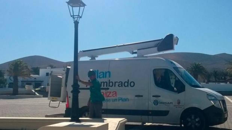 Un fondo suizo se hace cargo de la financiación del alumbrado público de Teguise, Lanzarote