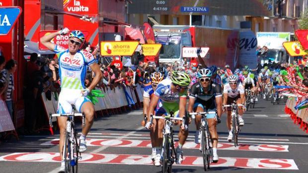 La Vuelta Ciclista, en agosto de 2011 en Talavera