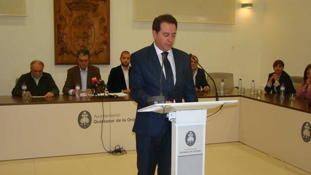 Carlos Madero, alcalde de Quintanar de la Orden