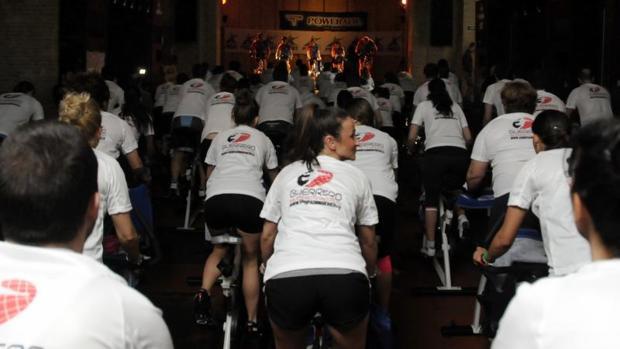 Jornada ciclista organizada por una empresa