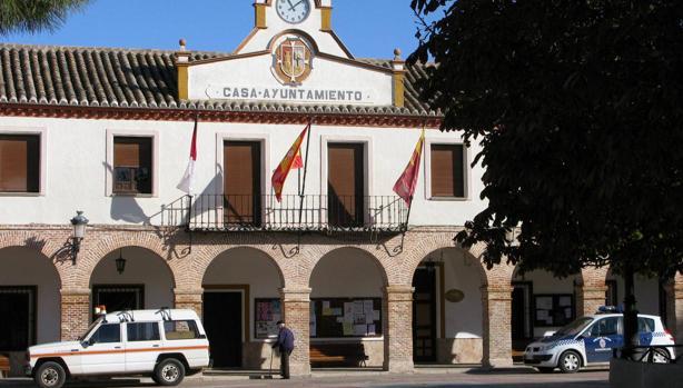 Fachada del Ayuntamiento de Madridejos