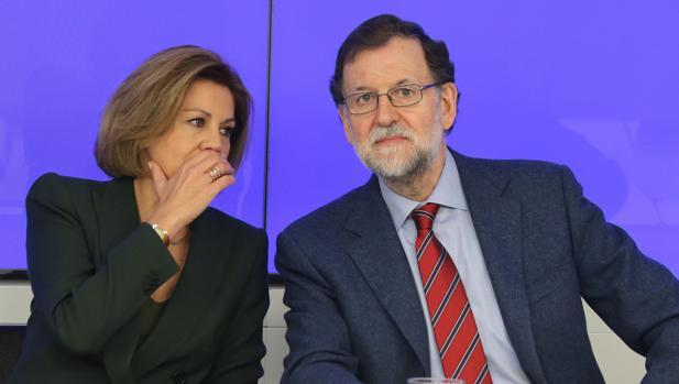 De Cospedal, junto al presidente dle Gobierno