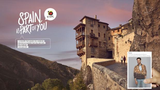 Foto promocional de Turespaña en Cuenca