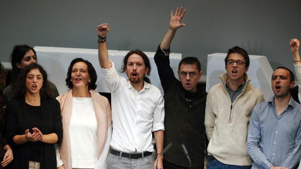 De los cinco impulsores de Podemos, solo Monedero sigue alienado con las tesis de Iglesias