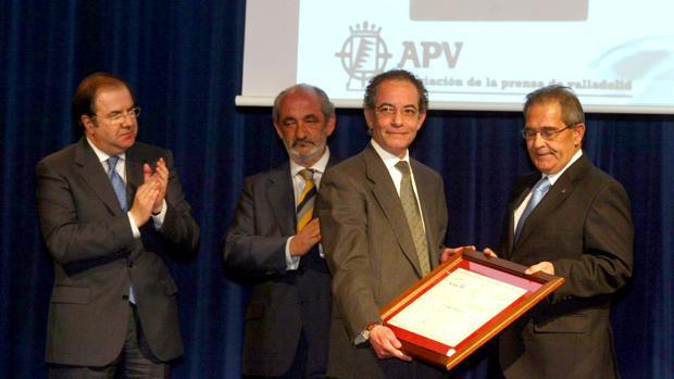 Entrega del XII Premio NAcional de Periodismo Miguel Delibes en el año 2007