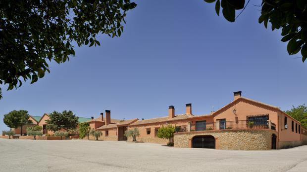 Instalaciones de Bodegas Balmoral, en Alpera (Albacete)