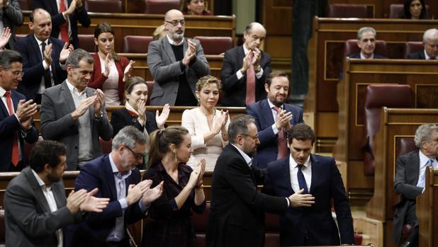 Ciudadanos y ERC son los más abstencionistas del Congreso