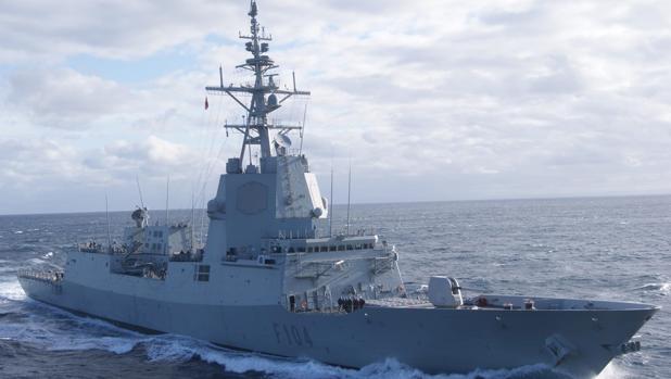 La fragata Méndez Núñez será la alistada para desplegarse con un portaaviones de la US Navy