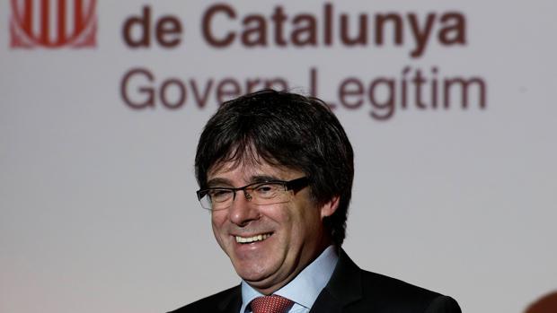 El expresidente Puigdemont ,en Bélgica