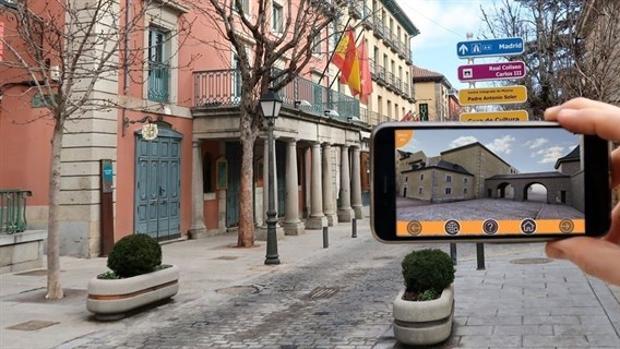 Una imagen de San Lorenzo en la aplicación móvil