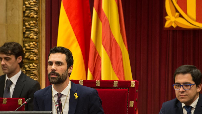 Torrent no descarta ir a Bruselas si Puigdemont resulta el candidato con «más consenso»