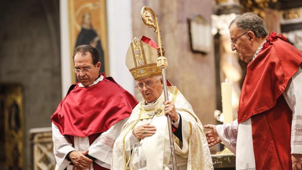 Imagen de archivo del cardenal arzobispo de Valencia, Antonio Cañizares