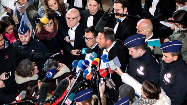 EJaume Alonso Cuevillas tiene a los periodistas el pasado mes de diciembre