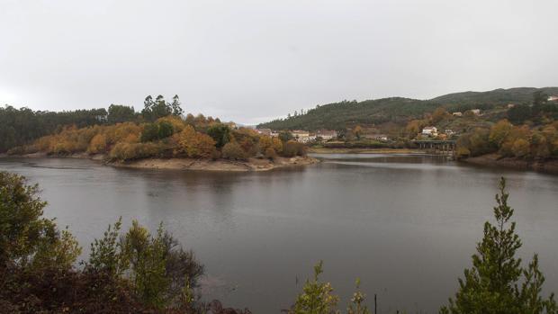 Estado del embalse de Eiras, que abastece a Vigo, tras las lluvias del mes de diciembre