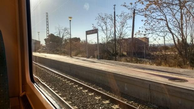La estación-apeadero en la que se ha producido el accidente