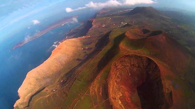Volcanes de Haría, Lanzarote