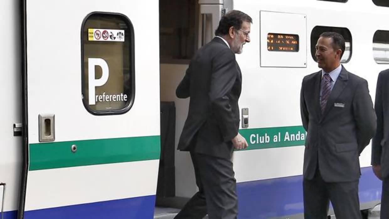 Rajoy, a toda velocidad entre Madrid y Castellón