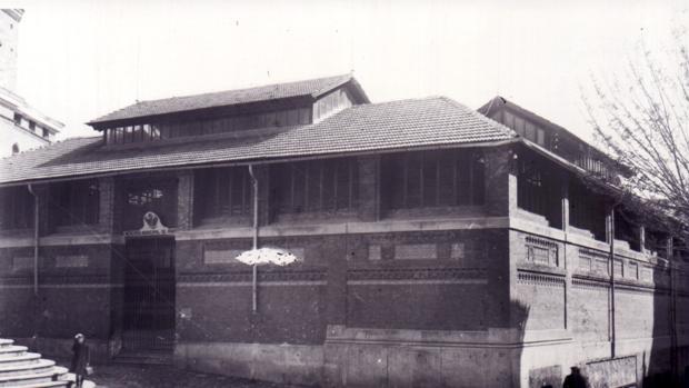 Mercado Municipal de Abastos poco tiempo después de abrirse en 1915. ARCHIVO PARTICULAR. FELIX VILLASANT