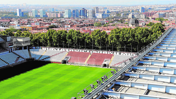 La reforma del estadio del Rayo Vallecano comenzará a finales de marzo