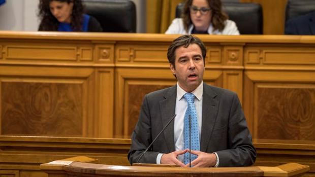 Lorenzo Robisco, portavoz del PP en las Cortes de Castilla-La Mancha