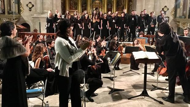 Uno de los conciertos de ediciones anteriores de la Semana de Música Religiosa de Cuenca
