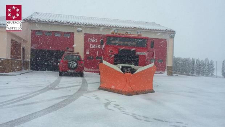 El tiempo en valencia comienza a nevar en castell n como - El tiempo torreblanca castellon ...