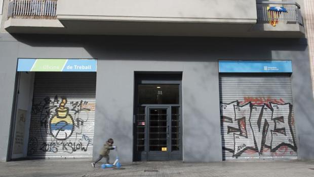 C rcel para una red que vend a datos del inem y el for Oficinas soc barcelona