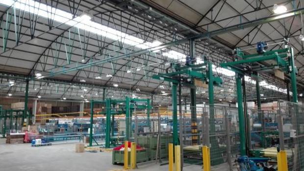 Instalaciones de la empresa Schreder Socelec en Marchamalo (Guadalajara)