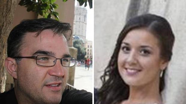 Imagen del amante y la viuda del hombre asesinado en Patraix