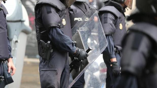 Operativo de la Policía Nacional contra el 1-O