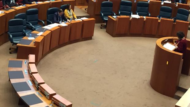 Fotografía del pleno que el PSOE ha subido a sus redes sociales