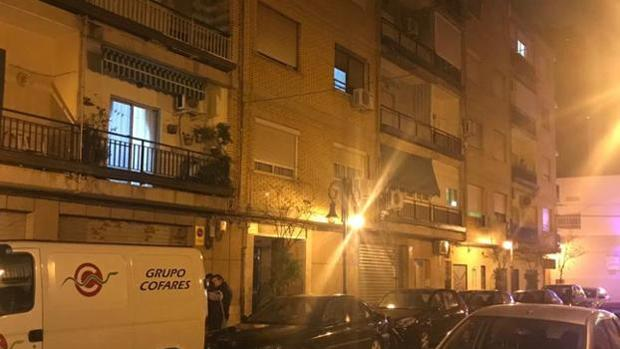 Imagen de la calle en la que se ha registrado el suceso