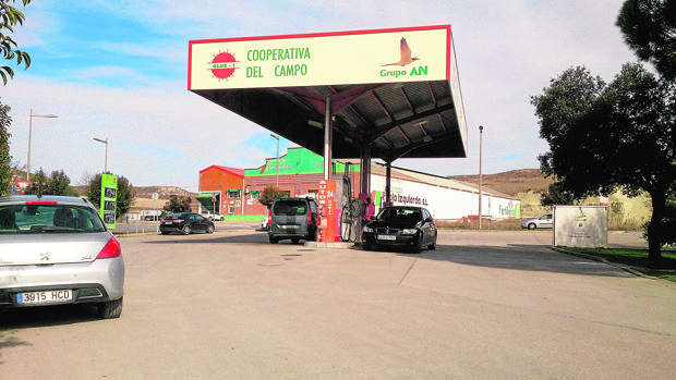 Gasolinera de una cooperativa agraria en la provicia de Segovia