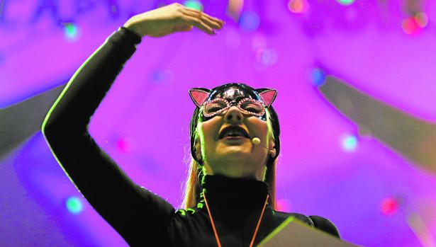La actuación que dio arranque ayer al Carnaval de la capital