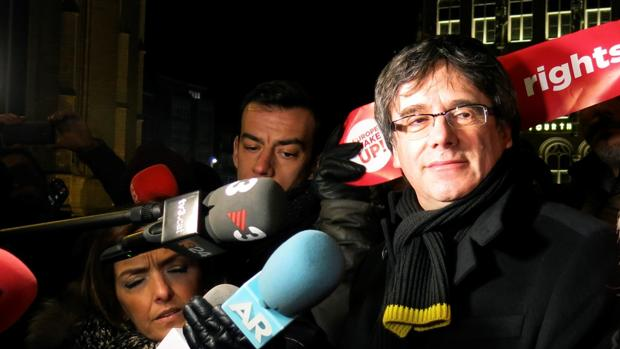 El expresidente Carles Puigdemont en Bélgica