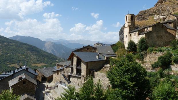 Imagen del Pirineo catalán