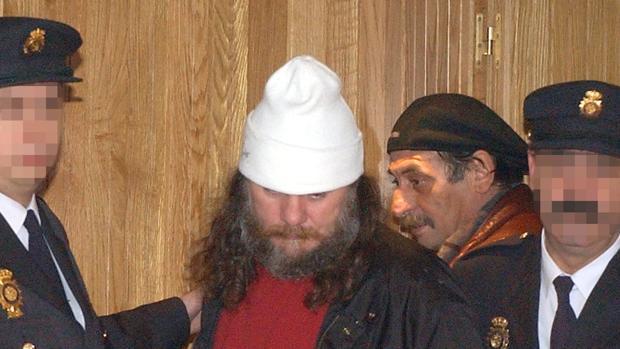 José Ramón Prado Bugallo, alias Sito Miñanco, tras ser detenido en el año 2001
