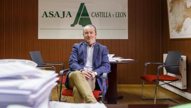 El presidente de Asaja, Donaciano Dujo