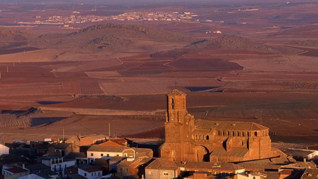 Panorámica del Campo de Montiel desde la localidad de Villamarique (Ciudad Real)