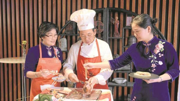 La gastronomía es uno de los ejes del Año Nuevo Chino 2018