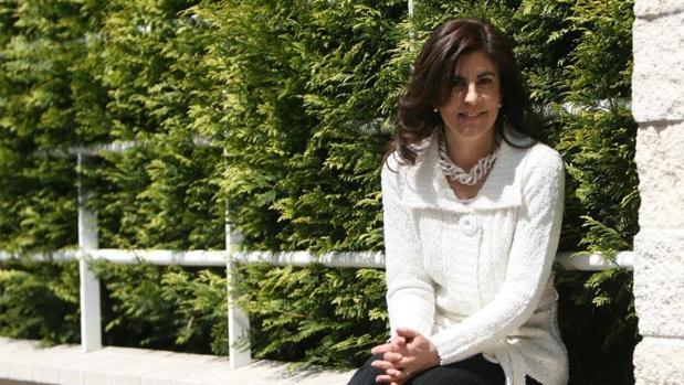 La presidenta de Galicia Bilingüe e impulsora de Hablamos Español, Gloria Lago
