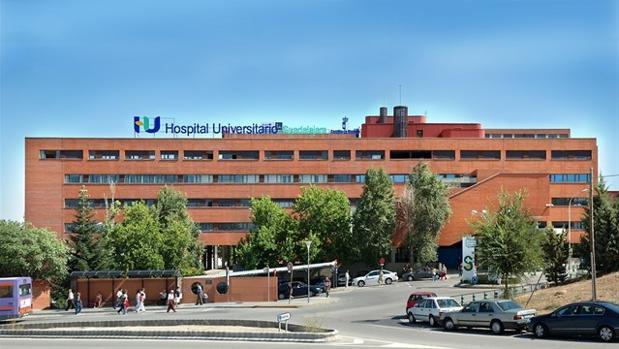 Hospitall Universitario de Guadalajara, donde fue trasladado el herido