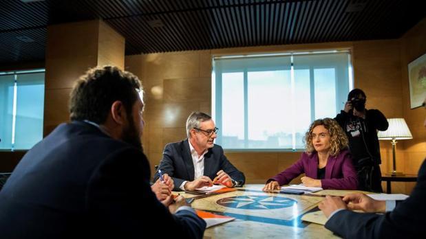 La reunión de ayer entre PSOE y Ciudadanos
