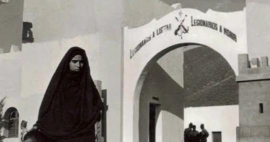 Cuartel de la Legión de Sidi Ifni