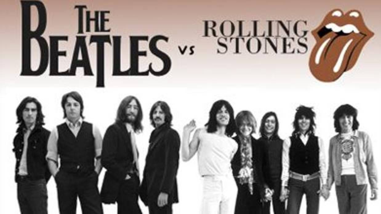 a comparison of the beatles and the rolling stones The beatles vs the rolling stones: who was actually the best john lennon vs keith richards lennon, sadly, is largely remembered for the sickly sweet and soporific imagine.