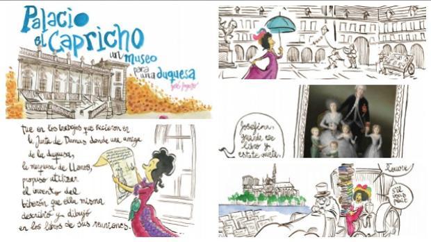 La vida ilustrada de la Duquesa de Osuna, un «capricho» de viñetas