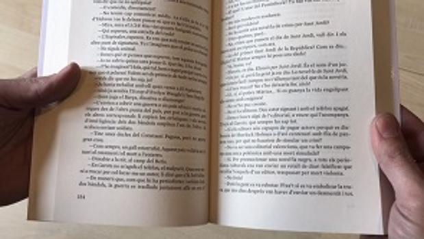 Un libro de Ara Llibres sin el número 155 en la página correspondiente